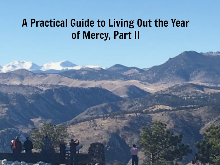A Very Merciful Christmas to You - Divine Mercy for Moms |Spiritual Works Of Mercy Comfort The Sorrowful